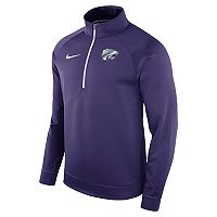 Men's Nike Kansas State Wildcats Quarter-Zip Therma Top
