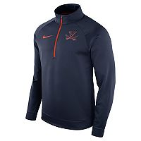 Men's Nike Virginia Cavaliers Quarter-Zip Therma Top