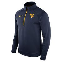 Men's Nike West Virginia Mountaineers Quarter-Zip Therma Top