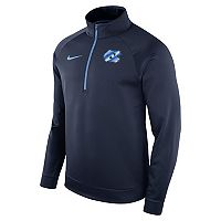 Men's Nike North Carolina Tar Heels Quarter-Zip Therma Top