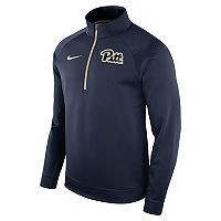 Men's Nike Pitt Panthers Quarter-Zip Therma Top