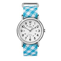 Timex Women's Weekender Gingham Watch