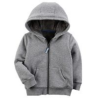 Baby Boy Carter's Gray Zip Fleece Hoodie