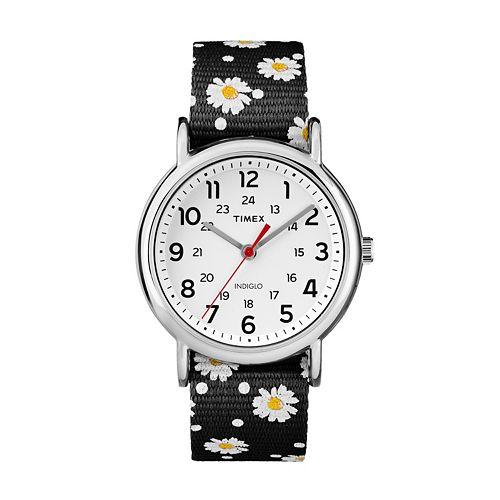 Timex Women's Weekender Floral Reversible Watch
