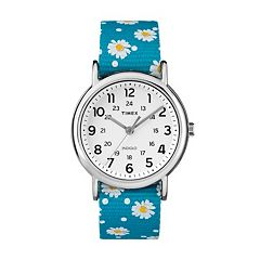 Timex Women's Weekender Floral Reversible Watch