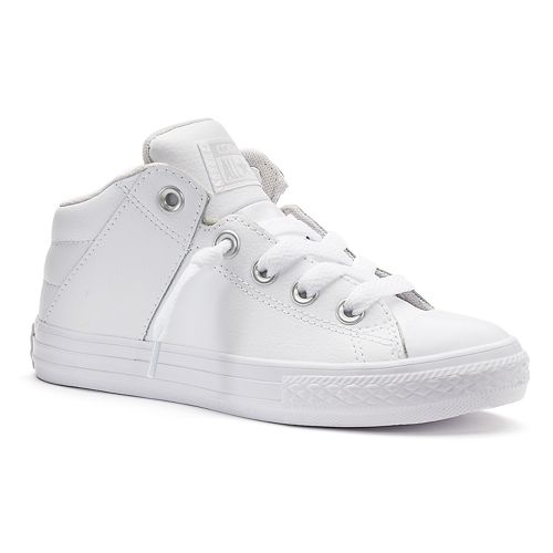 Kids Converse Chuck Taylor All Star Axel Mid Leather Sneakers