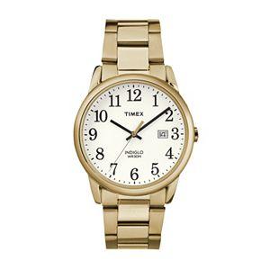 Timex Men's Easy Reader Stainless Steel Watch