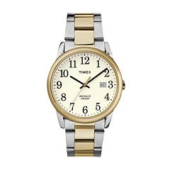 Timex Men's Easy Reader Stainless Steel Watch