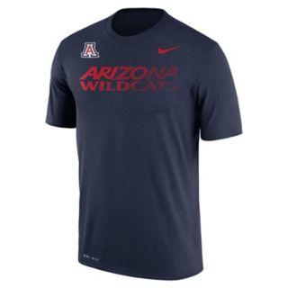 Men's Nike Arizona Wildcats Legend Staff Sideline Dri-FIT Tee
