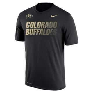 Men's Nike Colorado Buffaloes Legend Staff Sideline Dri-FIT Tee