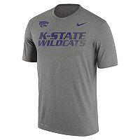 Men's Nike Kansas State Wildcats Legend Staff Sideline Dri-FIT Tee