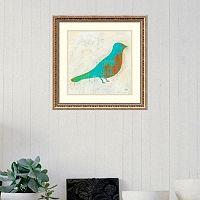 Amanti Art Flight Patterns Bird I Framed Wall Art