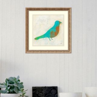 Amanti Art Flight Patterns Bird I Framed Wall Art