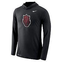 Men's Nike Arkansas Razorbacks Dri-FIT Hooded Tee