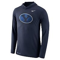 Men's Nike BYU Cougars Dri-FIT Hooded Tee