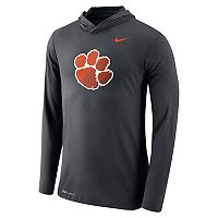 Men's Nike Clemson Tigers Dri-FIT Hooded Tee
