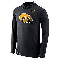 Men's Nike Iowa Hawkeyes Dri-FIT Hooded Tee