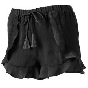 Juniors' Unionbay Ruffle Soft Shorts