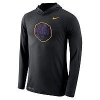 Men's Nike LSU Tigers Dri-FIT Hooded Tee