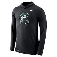 Men's Nike Michigan State Spartans Dri-FIT Hooded Tee