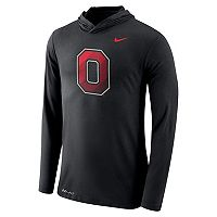 Men's Nike Ohio State Buckeyes Dri-FIT Hooded Tee