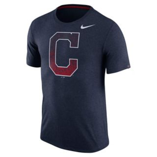 Men's Nike Cleveland Indians Triblend Tee