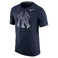 Men's Nike New York Yankees Triblend Tee