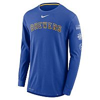 Men's Nike Milwaukee Brewers Deflect Dri-FIT Tee