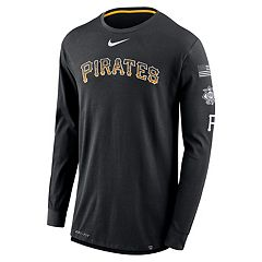 Men's Nike Pittsburgh Pirates Deflect Dri-FIT Tee