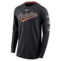 Men's Nike Baltimore Orioles Deflect Dri-FIT Tee