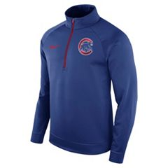 Men's Nike Chicago Cubs Bench Therma-FIT Pullover