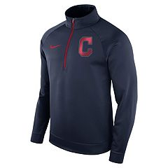 Men's Nike Cleveland Indians Bench Therma-FIT Pullover