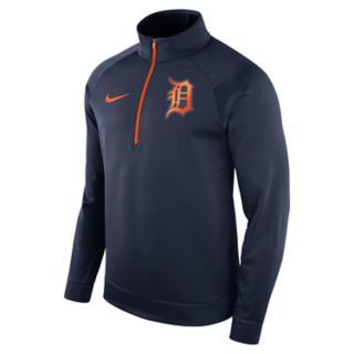 Men's Nike Detroit Tigers Bench Therma-FIT Pullover