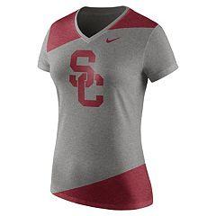 Women's Nike USC Trojans Champ Drive Tee