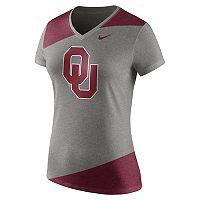 Women's Nike Oklahoma Sooners Champ Drive Tee