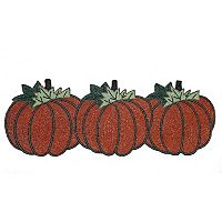 Celebrate Fall Together Beaded Pumpkin Table Runner - 36