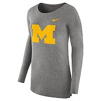 Women's Nike Michigan Wolverines Cozy Knit Top