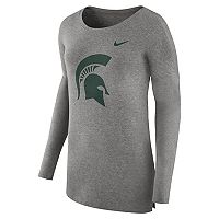 Women's Nike Michigan State Spartans Cozy Knit Top
