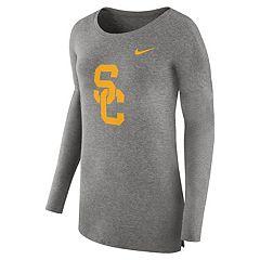 Women's Nike USC Trojans Cozy Knit Top