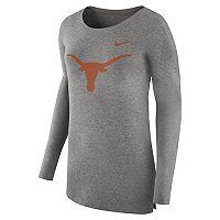 Women's Nike Texas Longhorns Cozy Knit Top