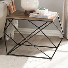 Baxton Studio Stilo Contemporary End Table