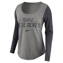 Women's Nike Duke Blue Devils Raglan Essentials Tee