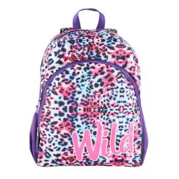 "Kids Cheetah ""Wild"" Backpack"