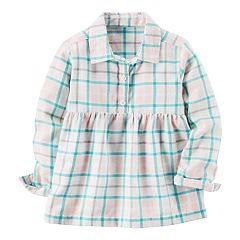 Baby Girl Carter's Plaid Babydoll Top