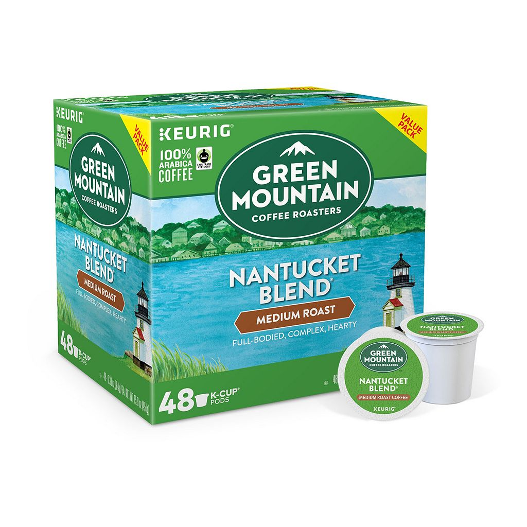 Keurig® K-Cup® Pod Green Mountain Coffee Nantucket Blend Medium Roast Coffee - 48-pk.
