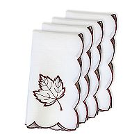 Celebrate Fall Together Leaf Cut Out Napkin 4-pk.