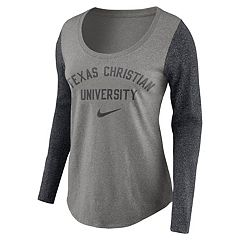 Women's Nike TCU Horned Frogs Raglan Essentials Tee