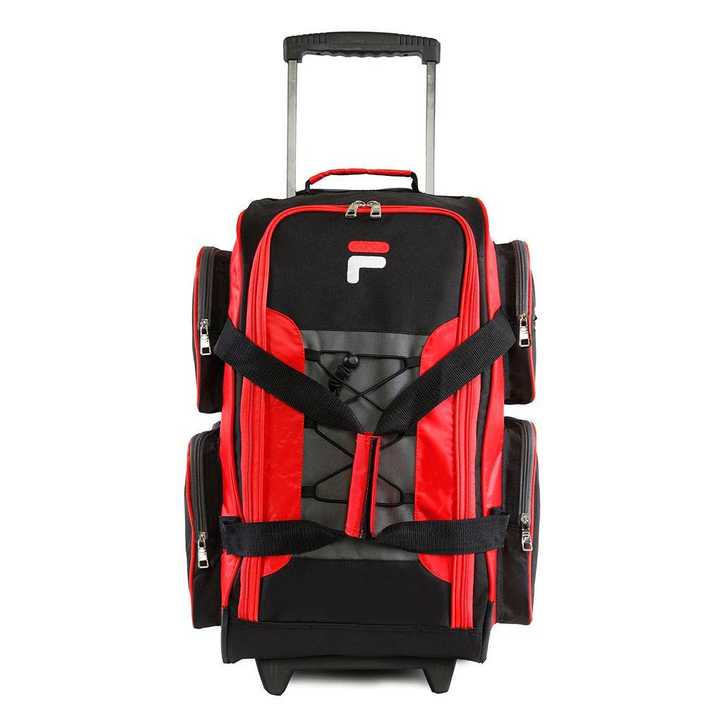 FILA® 22-Inch Lightweight Wheeled Duffel Bag