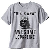 Boys 8-20 Star Wars Darth Vader Awesome Looks Like Tee