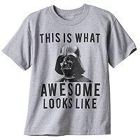 Boys 8-20 Star Wars Darth Vader Awesome Looks Like Tee